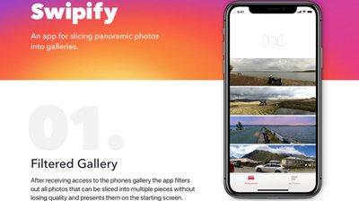 Swipify iOS App by Alex Hladkyi - on Twine