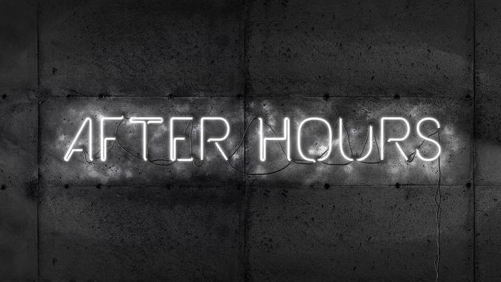 After Hours - Typographic Experiment